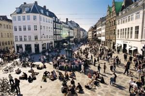 Stroget in Copenhagen