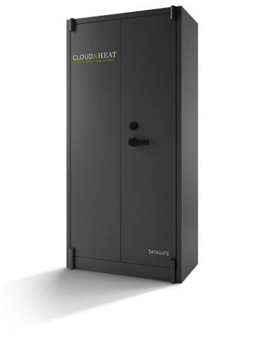 server cabinet from Coud&Heat